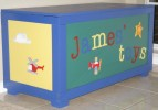 Picture of Airplane Toy Box