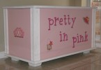 Picture of Pretty in Pink Toy Box